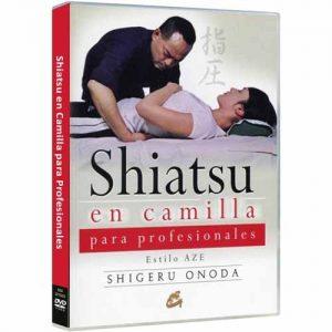 Dvd Shiatsu en camilla