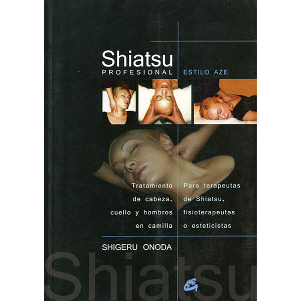 Libro shiatsu maestro onoda