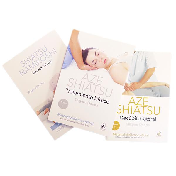 Pack libros de Shiatsu